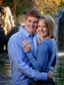 Boise Engagement Portrait, outside at Kathryn Albertson Park. Photo by Mike Reid, All Outdoor Photography.