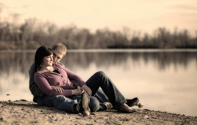Boise Engagement Portrait by Mike Reid, All Outdoor Photography.