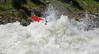 Evan Garcia in Juicer at 8000cfs. North Fork of the Payette River at 8000CFS