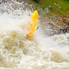 Brian Ward in Juicer at 8000cfs, North Fork of the Payette River. Photo by Mike Reid