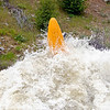 James Byrd in Juicer at 8000cfs. North Fork of the Payette, photo by Mike Reid.