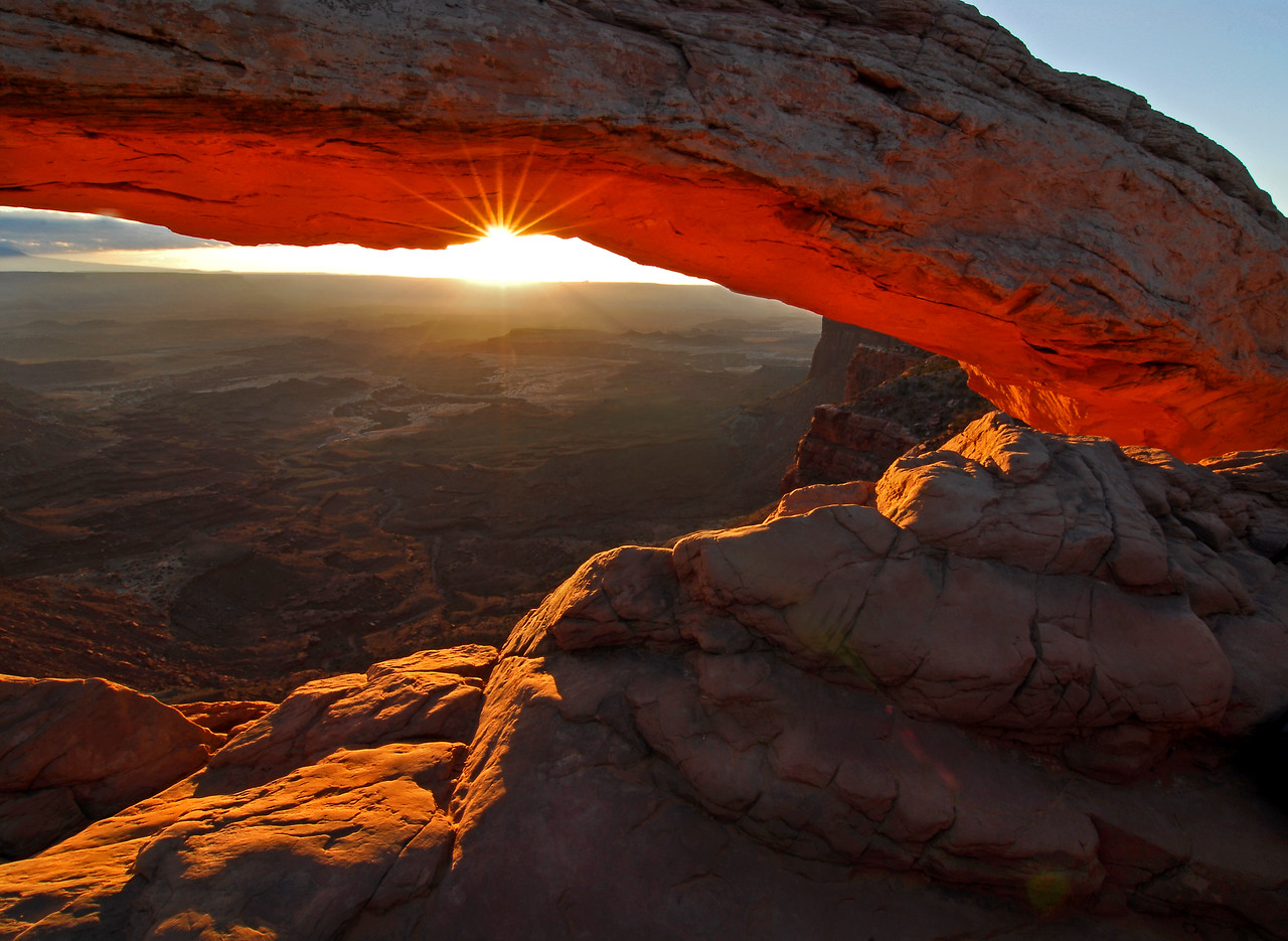Mesa Arch, Canyonlands National Park in Utah. Photo by Mike Reid.