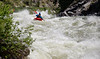 Evan Garcia in Steepness. North Fork of the Payette River at 8000CFS